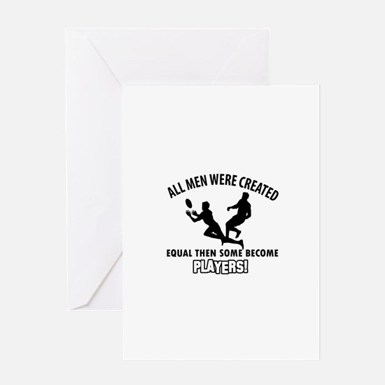 Rugby Players Designs Greeting Card
