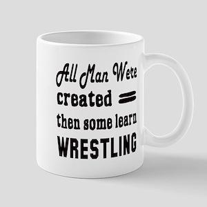 Some Learn Wrestling Mug