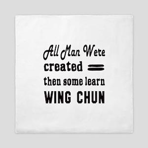 Some Learn Wing Chun Queen Duvet