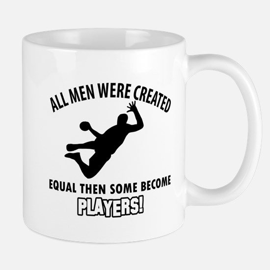 Handball Players Designs Mug