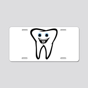 Tooth Aluminum License Plate