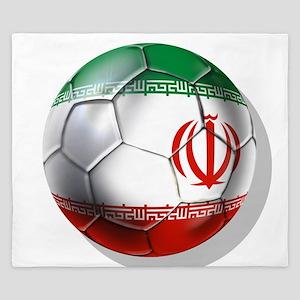 Iran Soccer Ball King Duvet