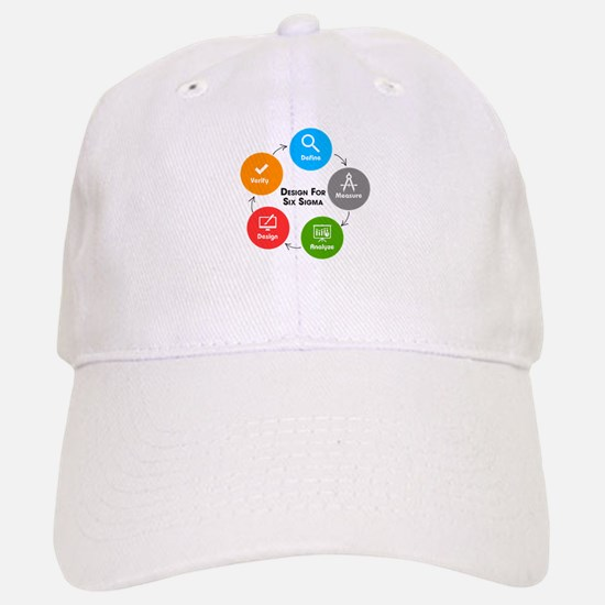 Design for Six Sigma (DFSS) Baseball Baseball Cap
