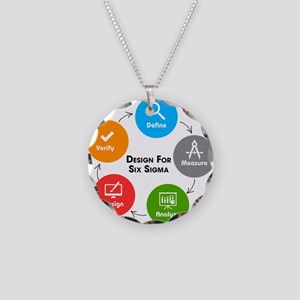Design for Six Sigma (DFSS) Necklace Circle Charm