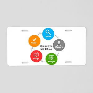 Design for Six Sigma (DFSS) Aluminum License Plate