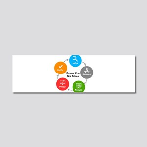 Design for Six Sigma (DFSS) Car Magnet 10 x 3
