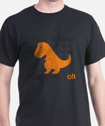 T-Rex clap your hands T-Shirt