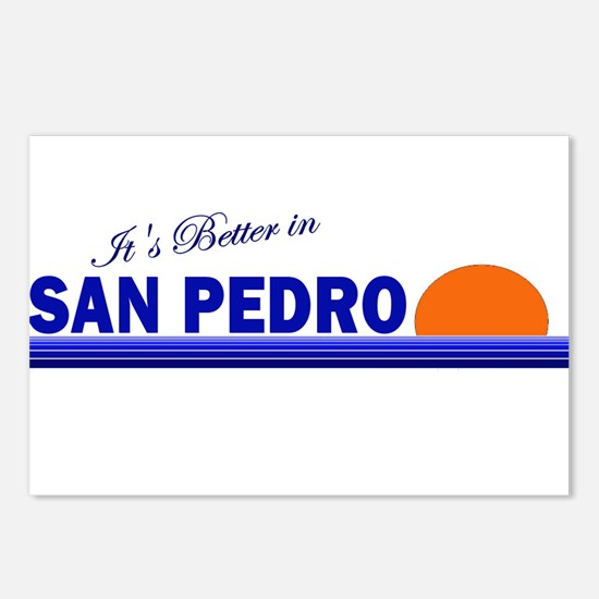 Its Better in San Pedro Postcards (Package of 8)