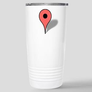 Google Map marker Stainless Steel Travel Mug