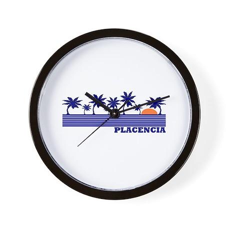 Placencia, Belize Wall Clock