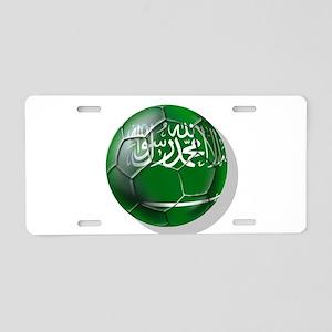 Saudi Arabia Football Aluminum License Plate