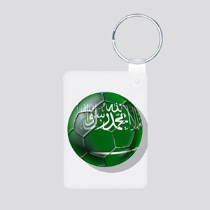 Saudi Arabia Football Aluminum Photo Keychain