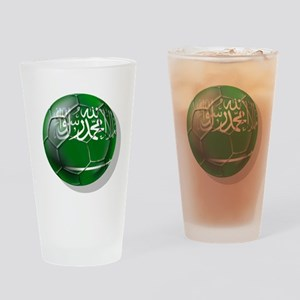 Saudi Arabia Football Drinking Glass