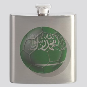 Saudi Arabia Football Flask