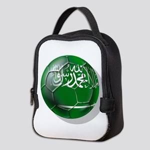 Saudi Arabia Football Neoprene Lunch Bag