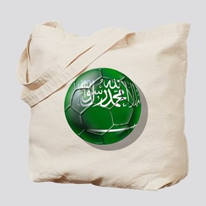 Saudi Arabia Football Tote Bag