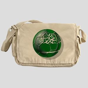Saudi Arabia Football Messenger Bag