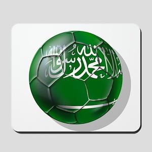 Saudi Arabia Football Mousepad