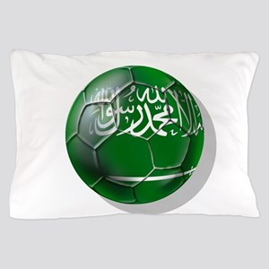 Saudi Arabia Football Pillow Case