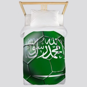 Saudi Arabia Football Twin Duvet