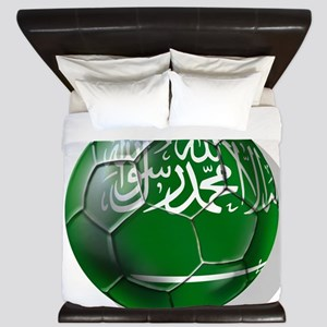 Saudi Arabia Football King Duvet