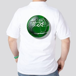 Saudi Arabia Football Golf Shirt