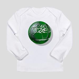 Saudi Arabia Football Long Sleeve Infant T-Shirt