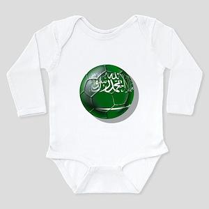 Saudi Arabia Football Long Sleeve Infant Bodysuit