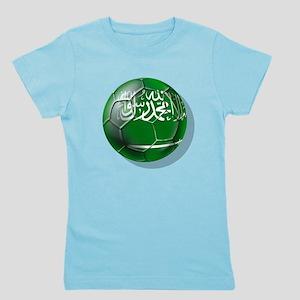 Saudi Arabia Football Girl's Tee