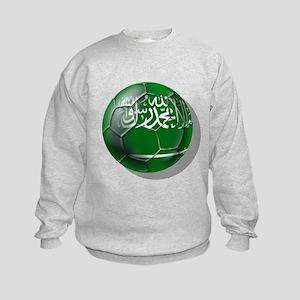 Saudi Arabia Football Kids Sweatshirt