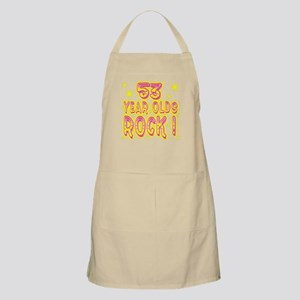 53 Year Olds Rock ! BBQ Apron