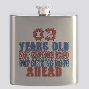 03 Getting More Ahead Birthday Flask
