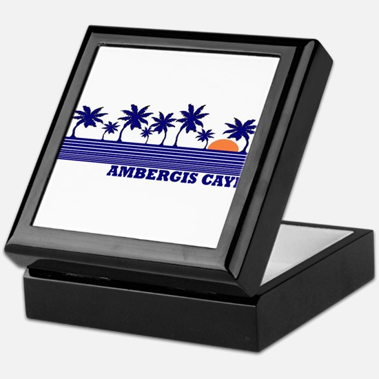 Ambergis Caye, Belize Keepsake Box