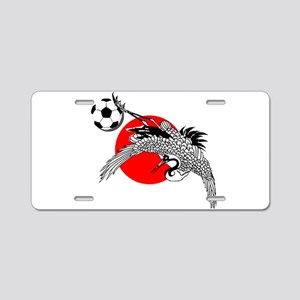 Japan Football Crane Aluminum License Plate