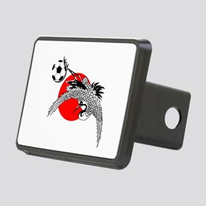 Japan Football Crane Rectangular Hitch Cover