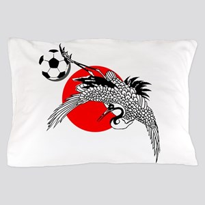 Japan Football Crane Pillow Case