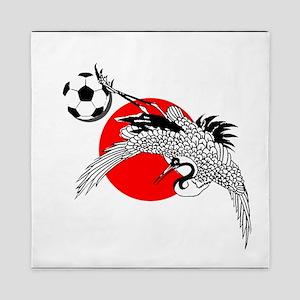 Japan Football Crane Queen Duvet