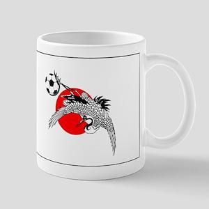 Japan Football Crane Mug