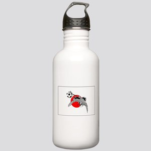 Japan Football Crane Stainless Water Bottle 1.0L