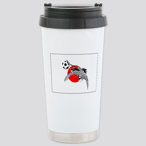 Japan Football Crane Stainless Steel Travel Mug