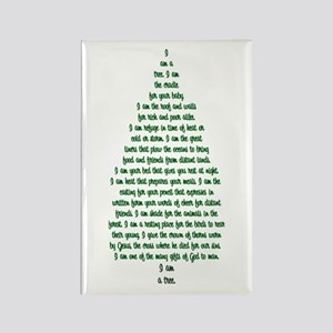 """""""I Am A Tree"""" Rectangle Magnet (10 pack)"""