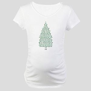 """I Am A Tree"" Maternity T-Shirt"
