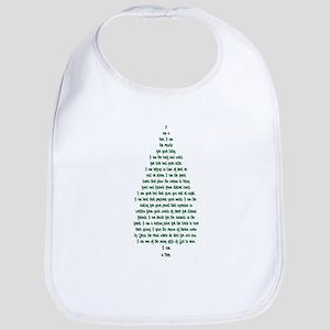 """""""I Am A Tree"""" Bib"""