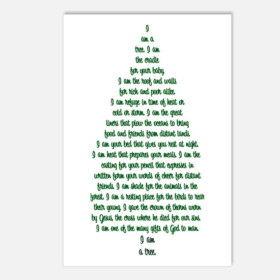 """""""I Am A Tree"""" Postcards (Package of 8)"""