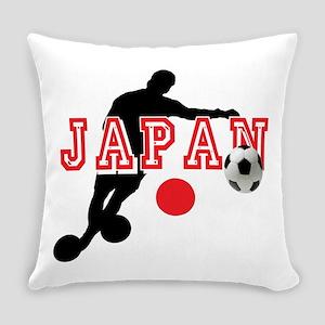 Japan Soccer Player Everyday Pillow
