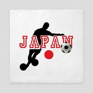 Japan Soccer Player Queen Duvet