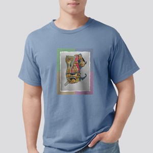 with Airedale map T-Shirt