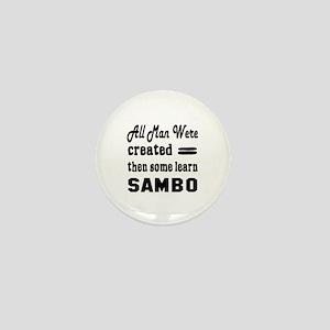 Some Learn Sambo Mini Button