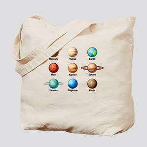 Planets Of The Solar System Tote Bag