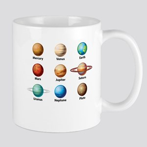 Planets Of The Solar System Mugs